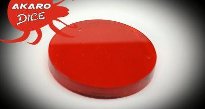 Rojo Translúcido